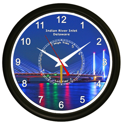 Indian River Inlet Time and Tide Clock